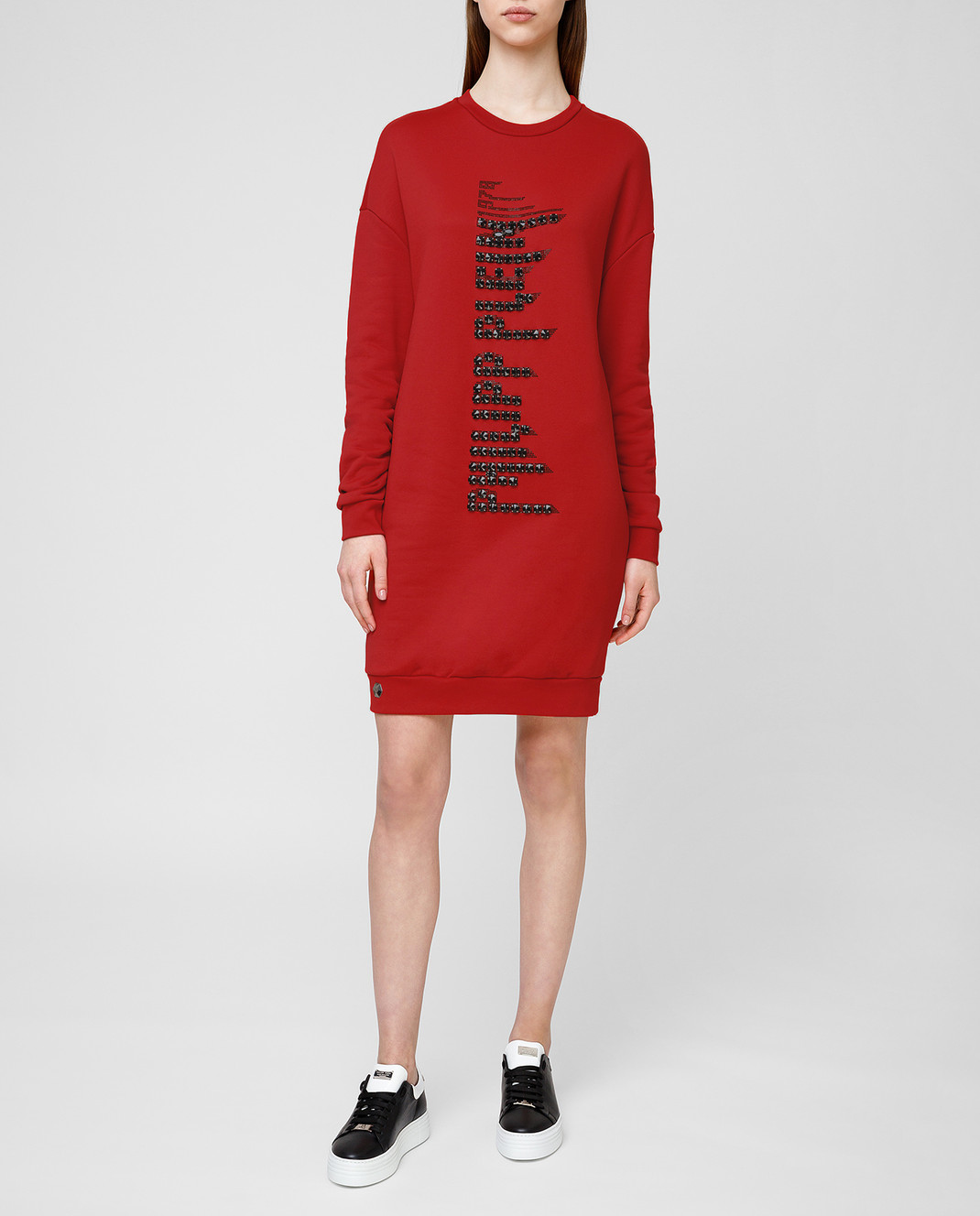 Philipp Plein Красное платье WJO0373 изображение 2