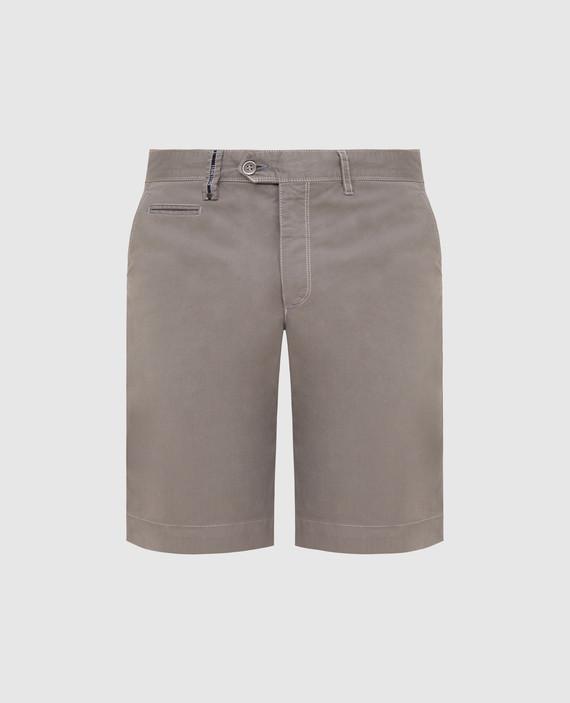 Темно-бежевые шорты