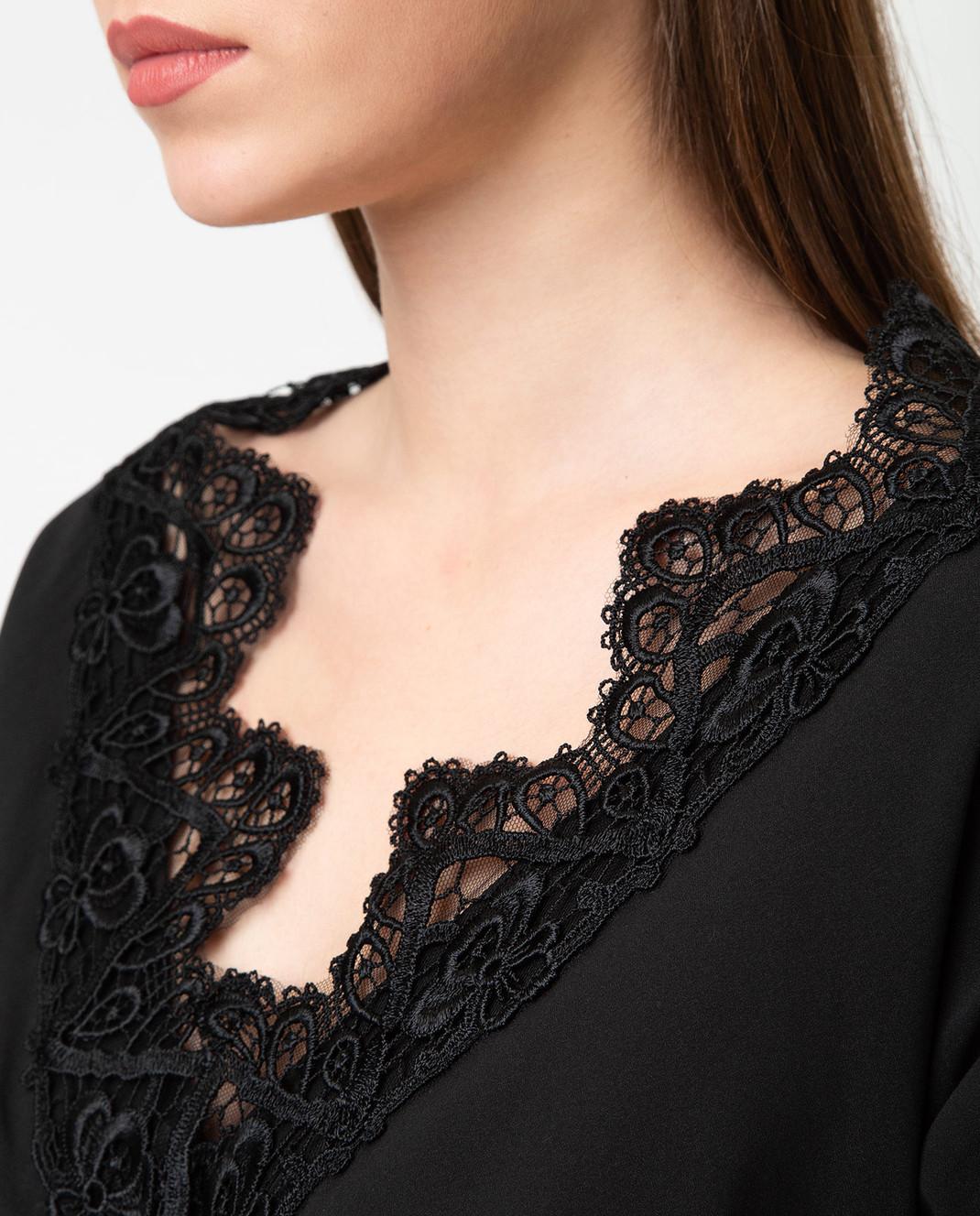 Dolce&Gabbana Черное платье F6A4QTFUABH изображение 5