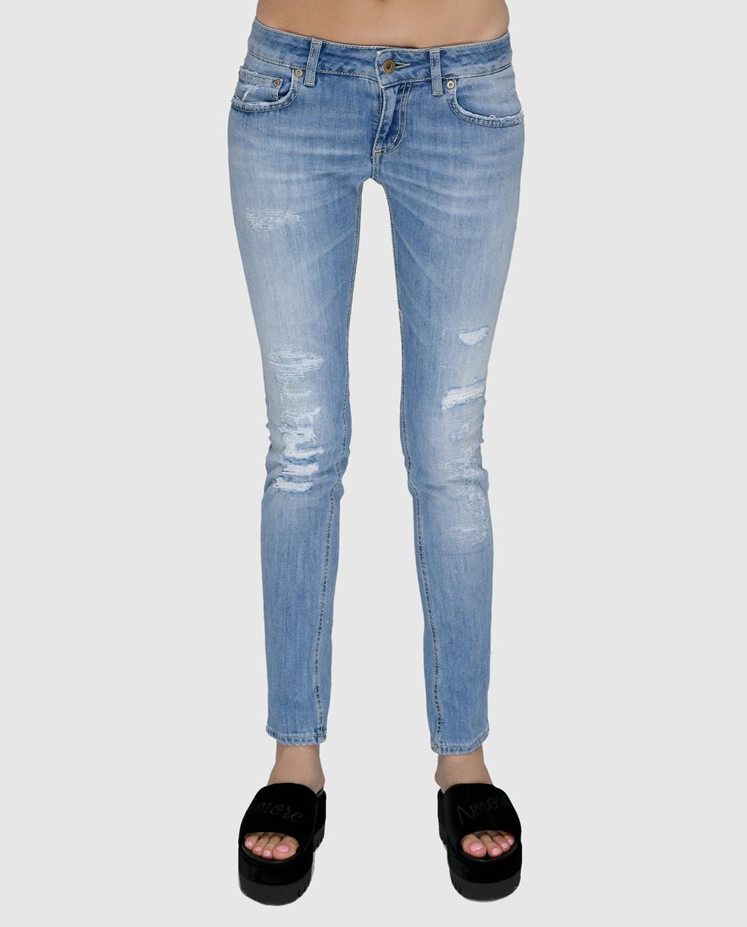 Dondup Голубые джинсы P622DS107DO51 изображение 3