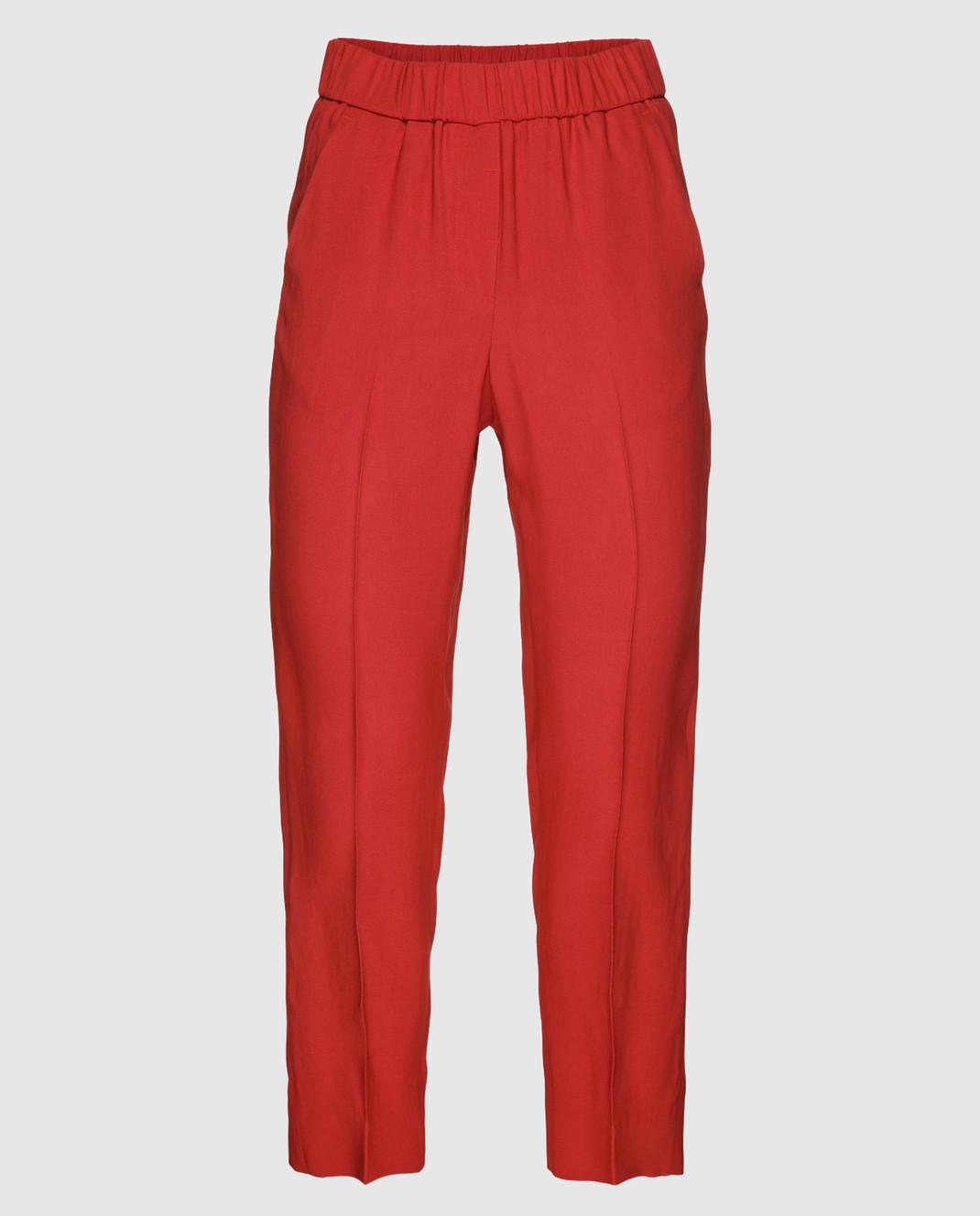 Peserico Красные брюки P04136
