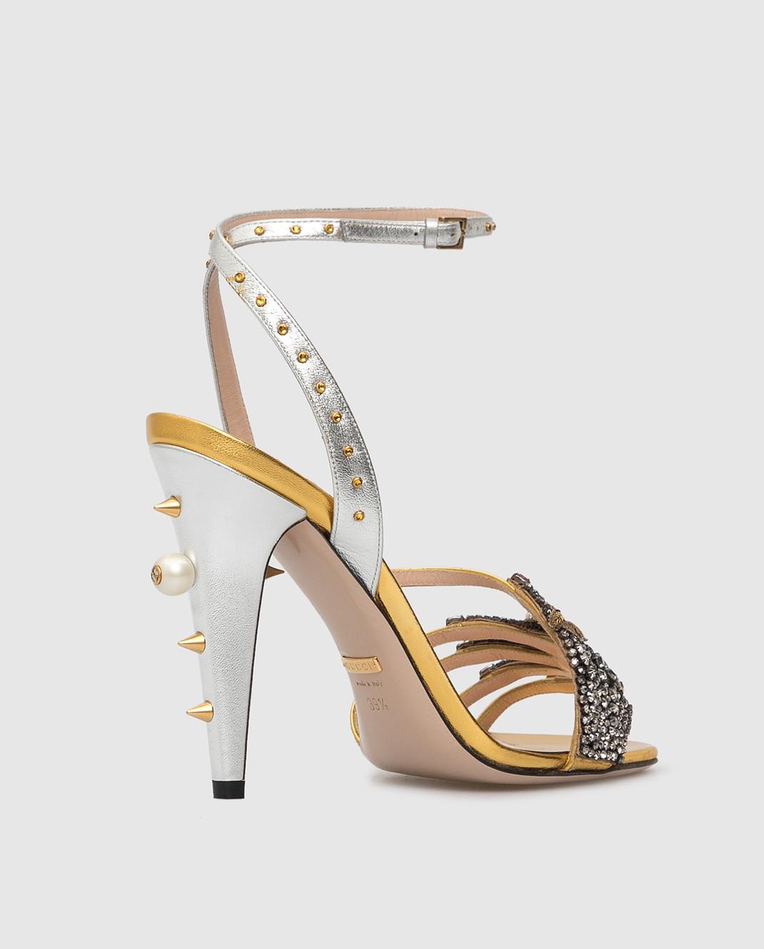 Gucci Босоножки с кристаллами 452770 изображение 4