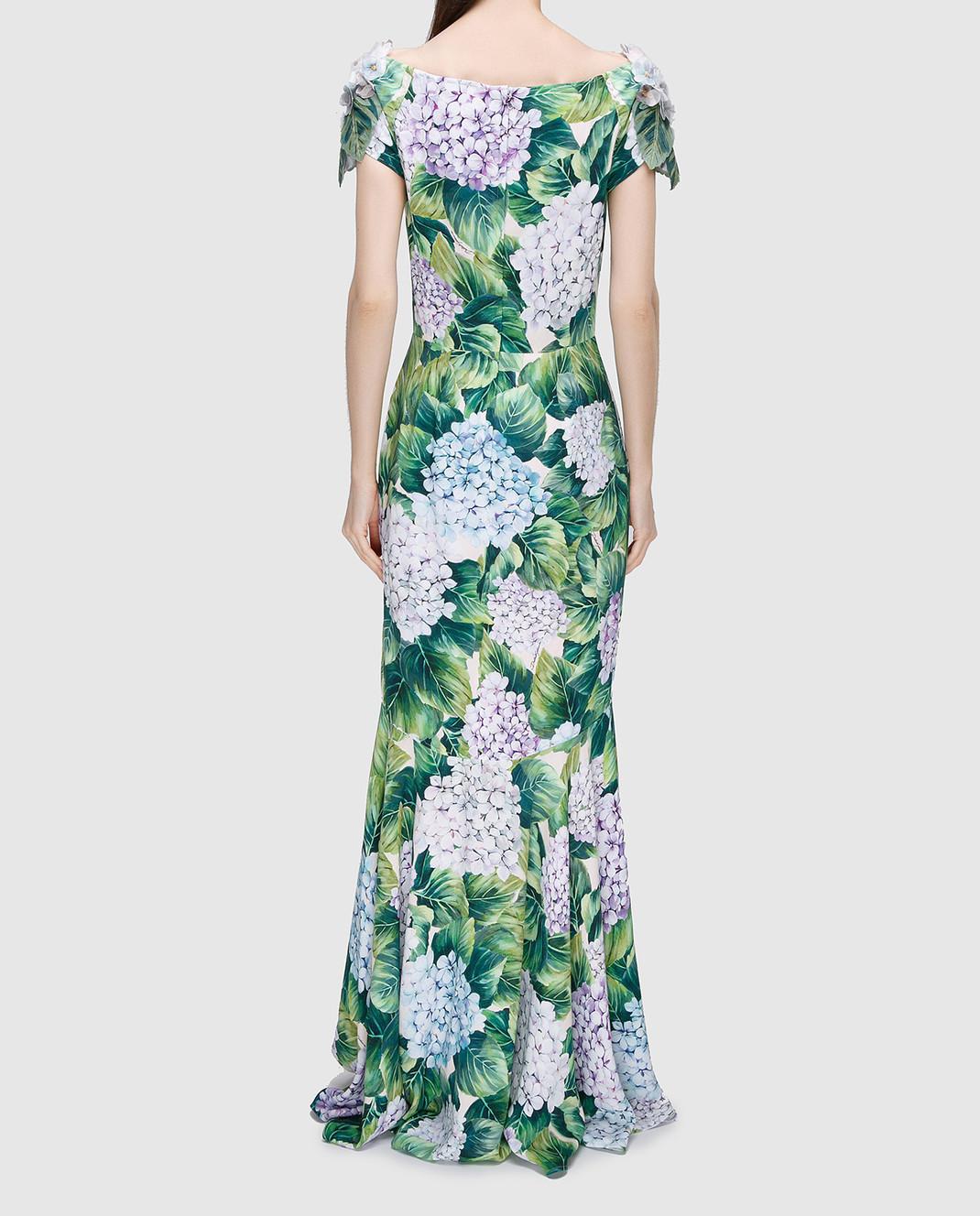 Dolce&Gabbana Зеленое платье изображение 4
