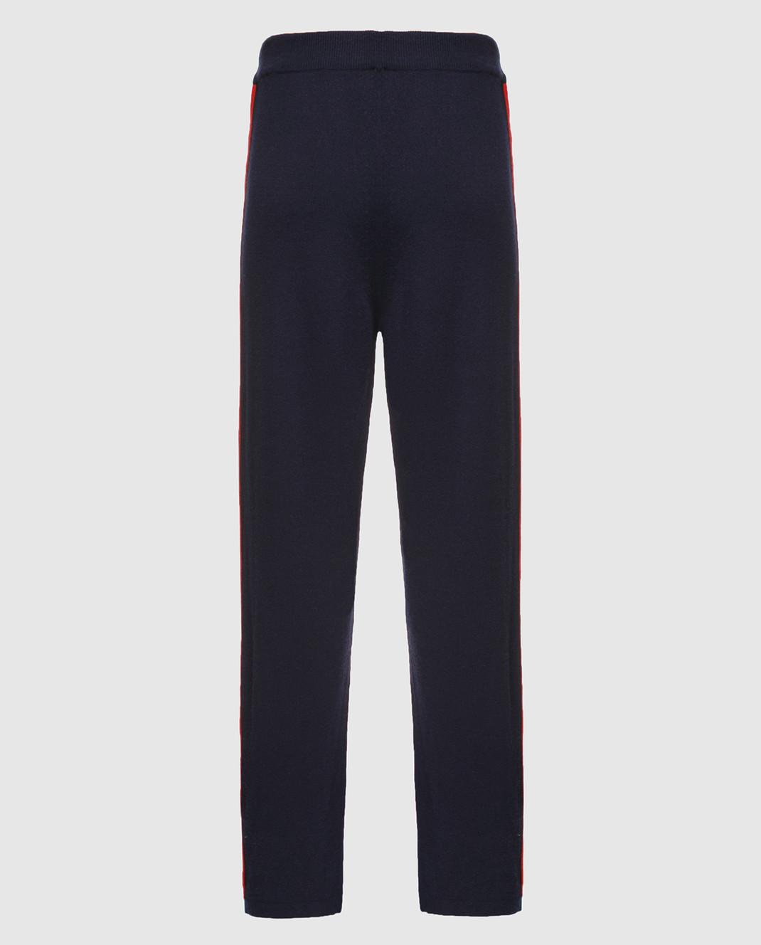 Johnstons Темно-синие брюки из кашемира KAL03898 изображение 2