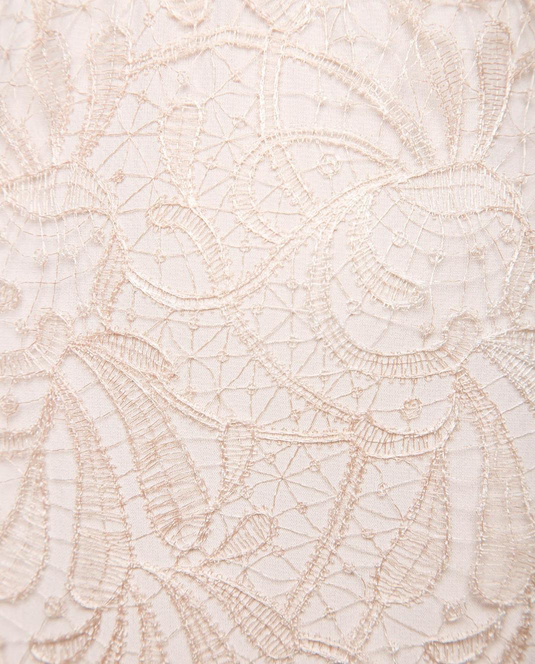 Ermanno Scervino Пудровая юбка D322O717AEJ изображение 3