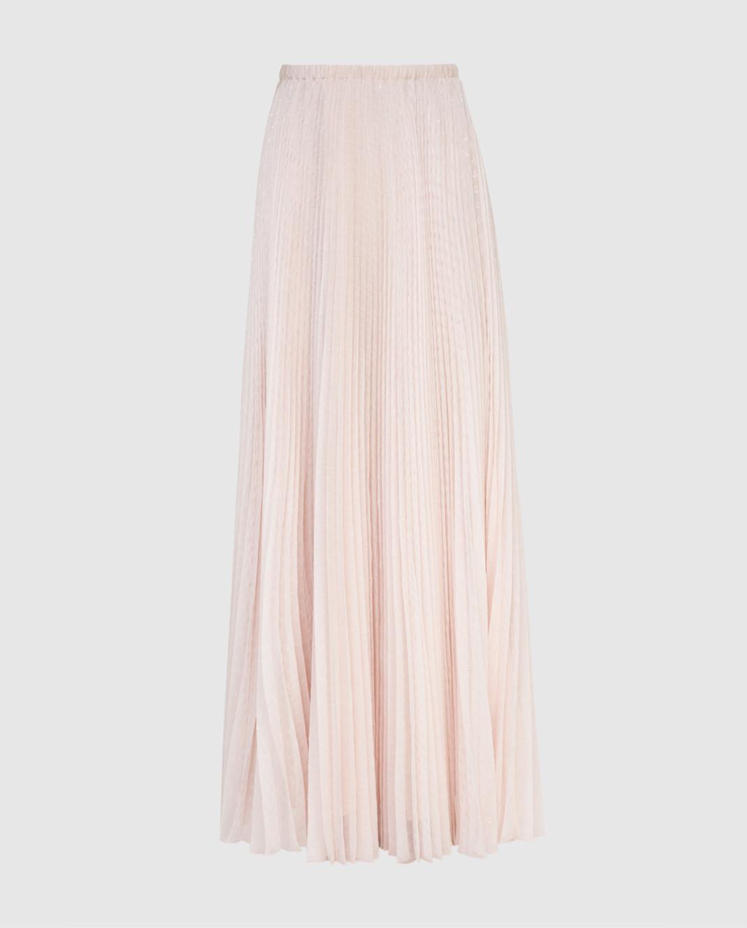 Philosophy di Lorenzo Serafini Светло-розовая юбка изображение 1