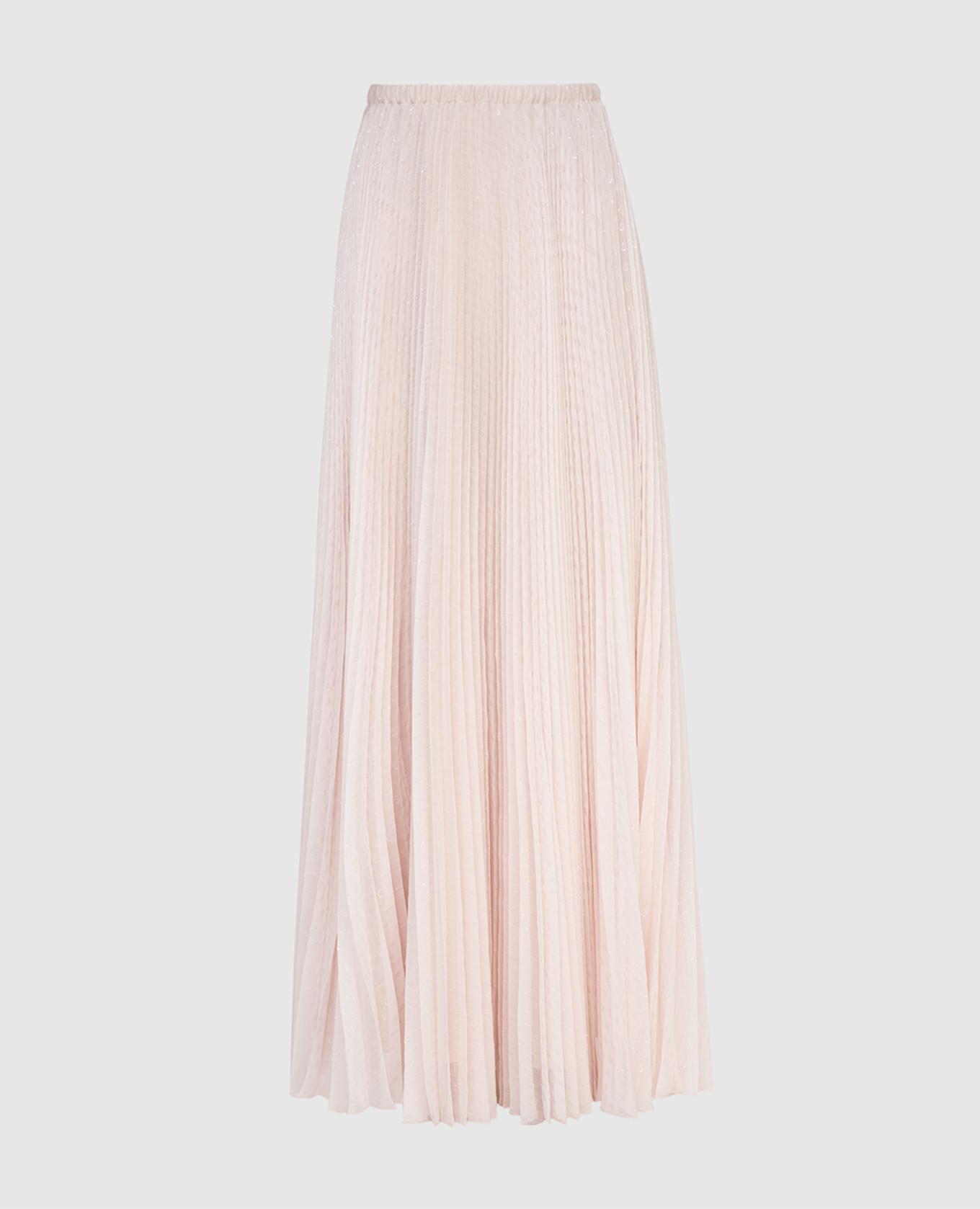 Светло-розовая юбка
