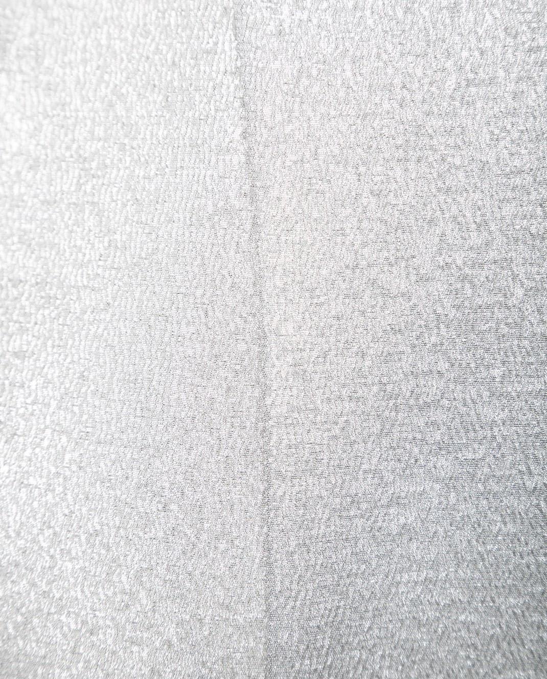 Valentino Серебристая блуза с длинным рукавом PB0AE2R53VF изображение 6