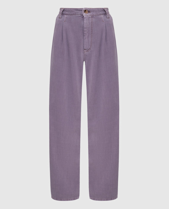 Сиреневые джинсы