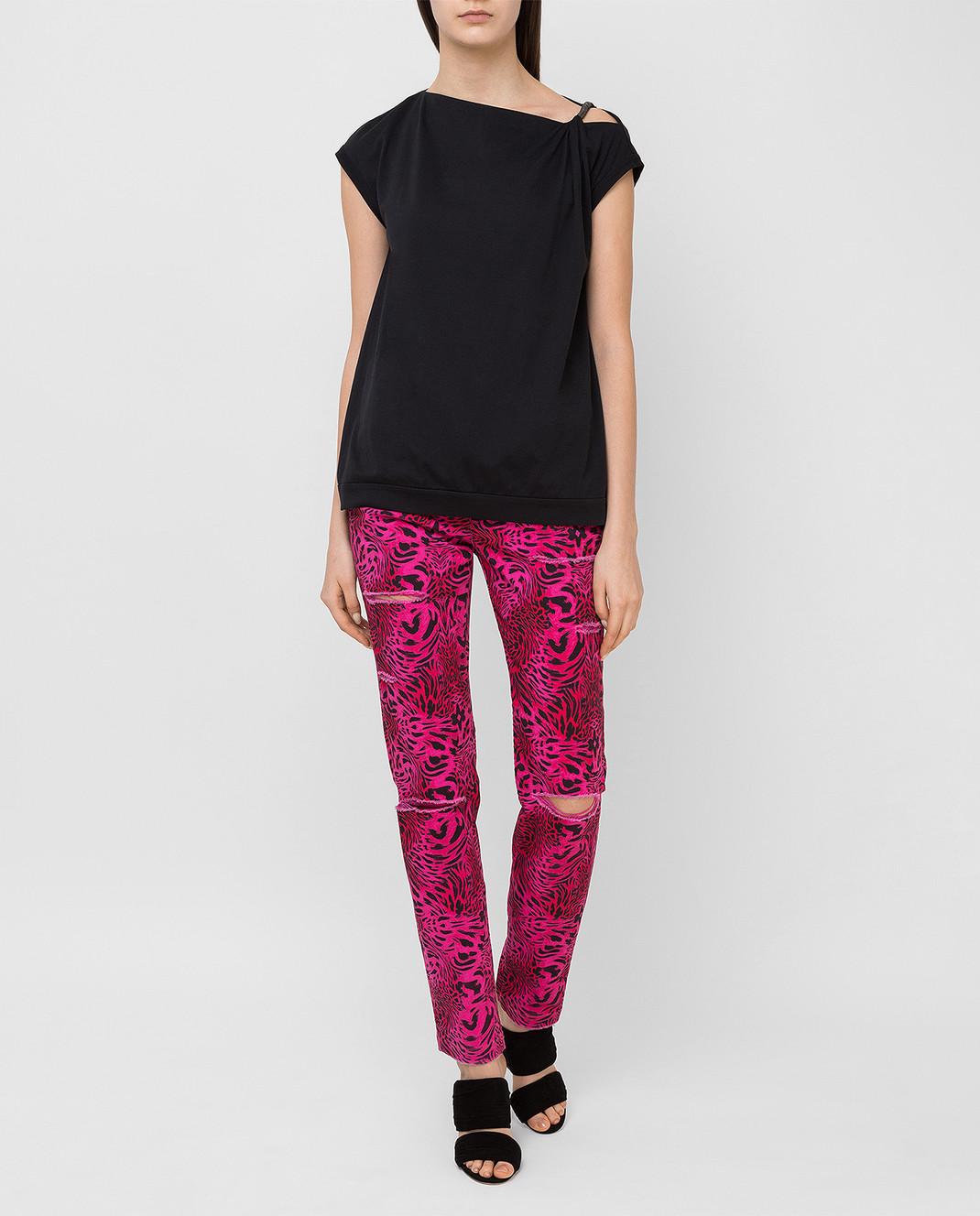 Philipp Plein Розовые джинсы CWDT0208 изображение 2