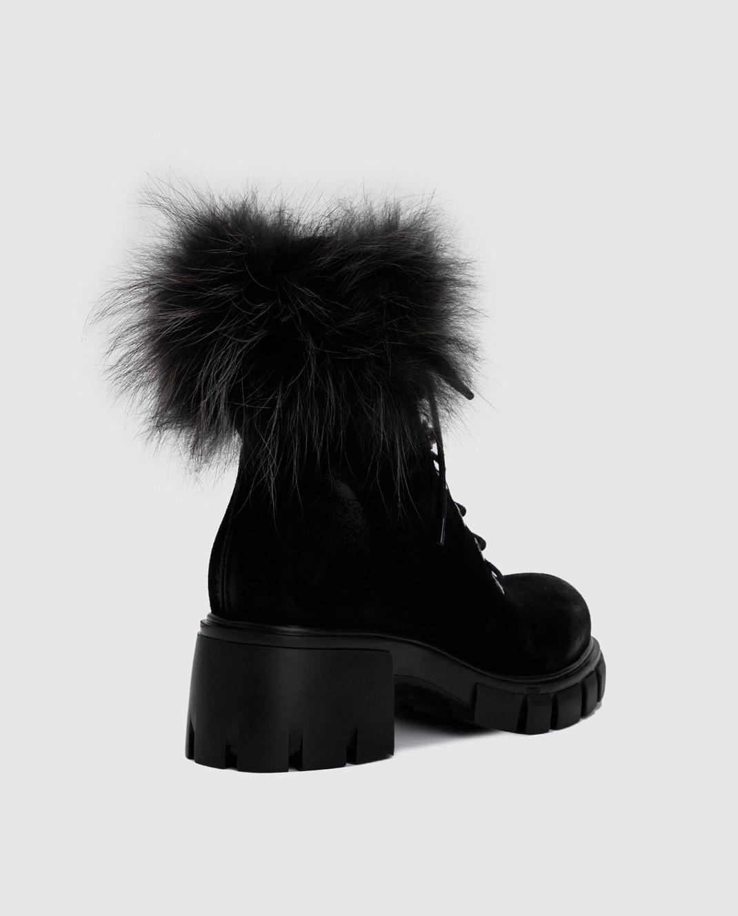 Fru it Черные замшевые ботинки 5125M изображение 4