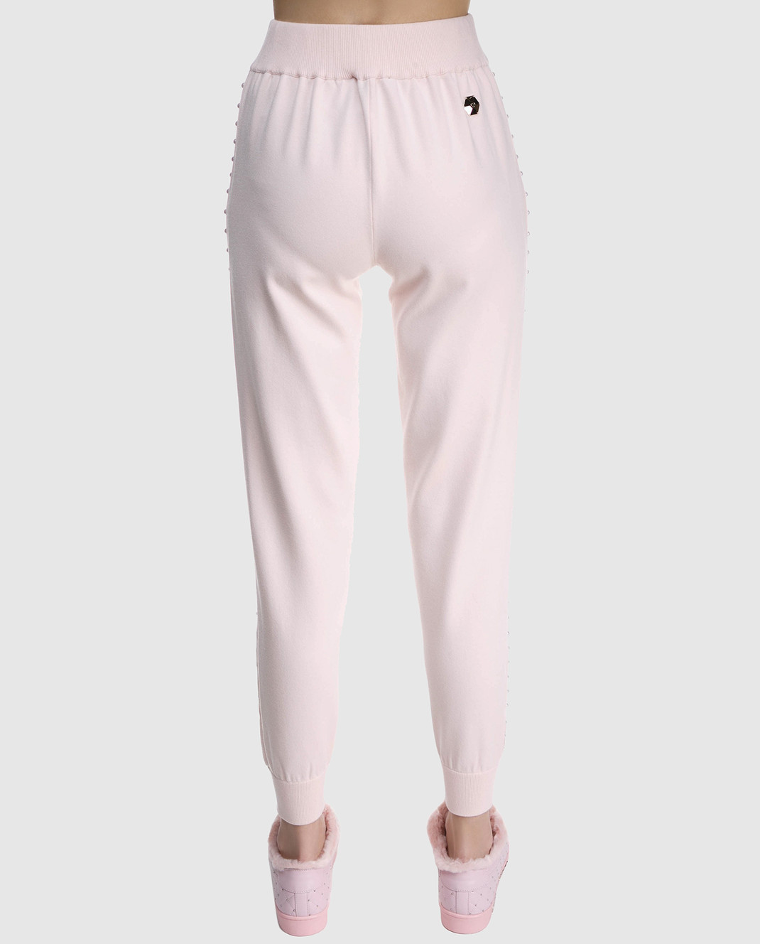 Philipp Plein Пудровые брюки WKT0034 изображение 4