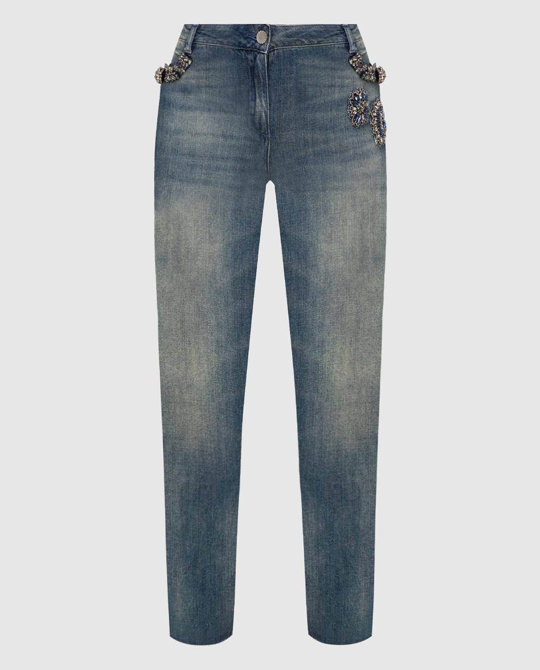 Twin Set Синие джинсы TS72MR