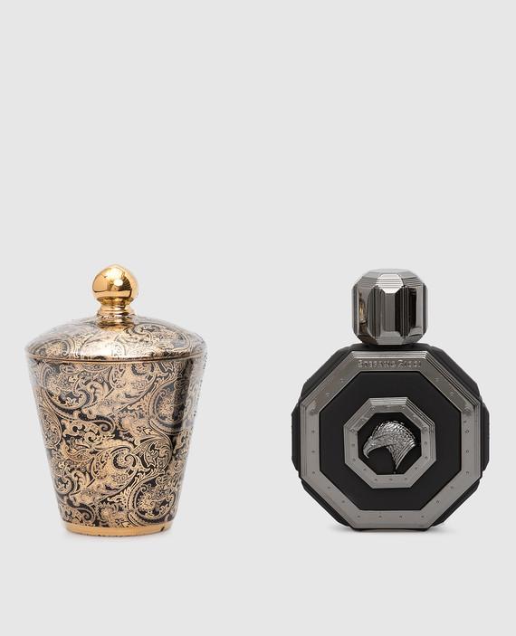 Подарочный набор: парфюмированная вода Royal Eagle Black и ароматическая свеча