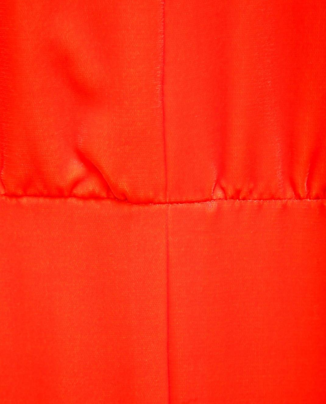 Valentino Красное платье PB0VD7E53TF изображение 5