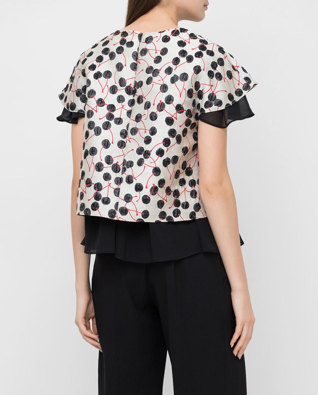 Giamba Светло-серая блуза PG2031 изображение 4