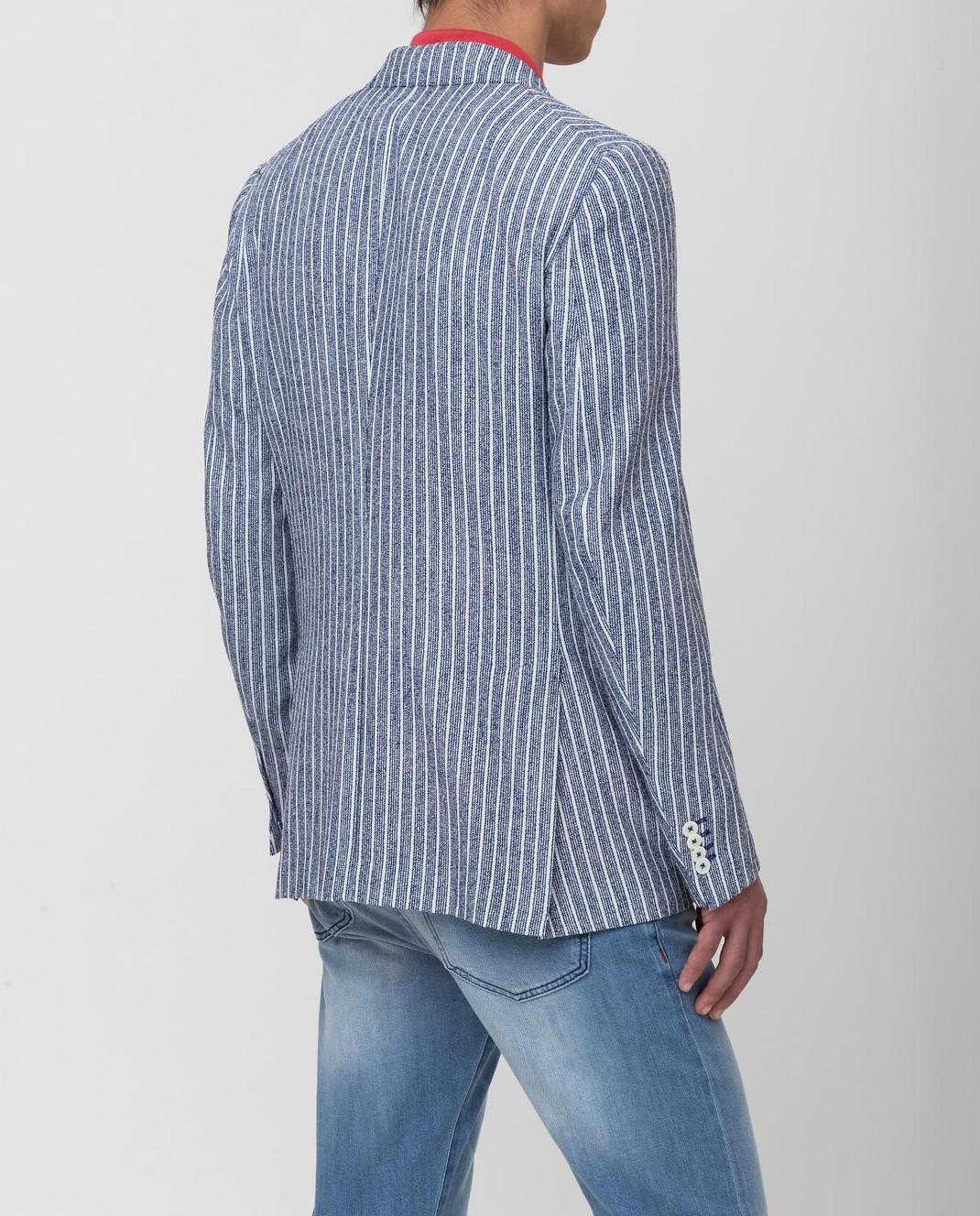ISAIA Синий пиджак изображение 4