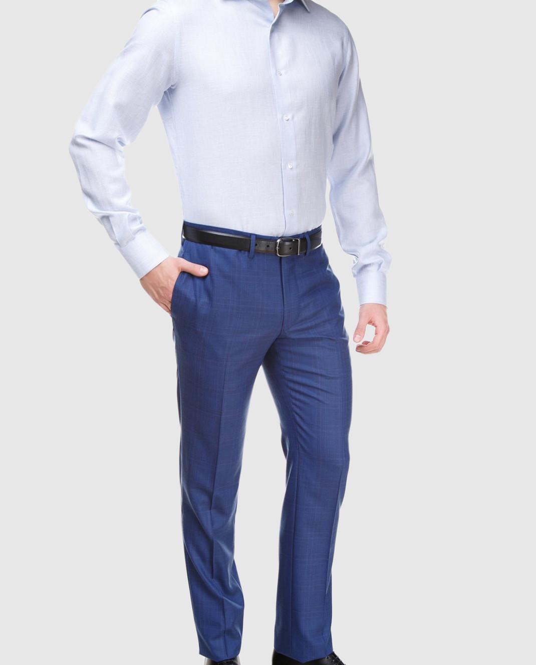 Голубая рубашка Stile Latino CMSLIMPRIMO1SMCM08 — Symbol