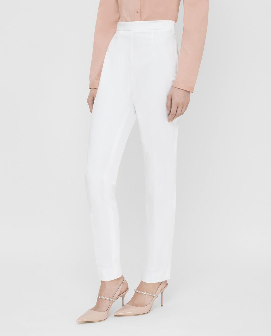 Prada Белые брюки P298C1VS4 изображение 3