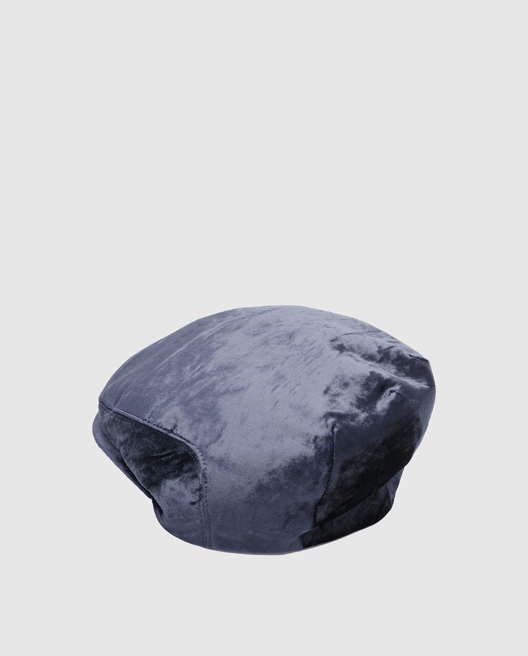 Brunello Cucinelli Темно-синее кепи MCAP99304 изображение 2