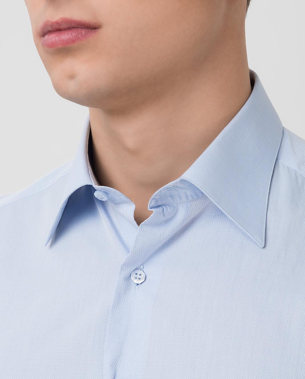 Stefano Ricci Голубая рубашка MC000591L1601 изображение 5