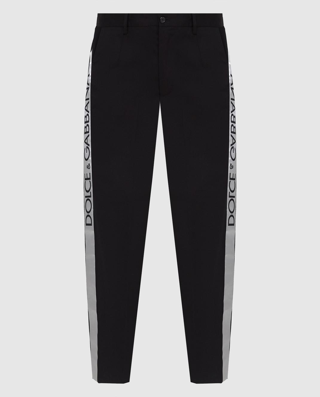 Dolce&Gabbana Черные брюки GYHGETFUFHT