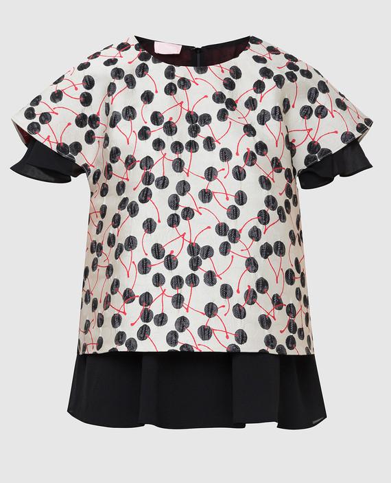 Светло-серая блуза