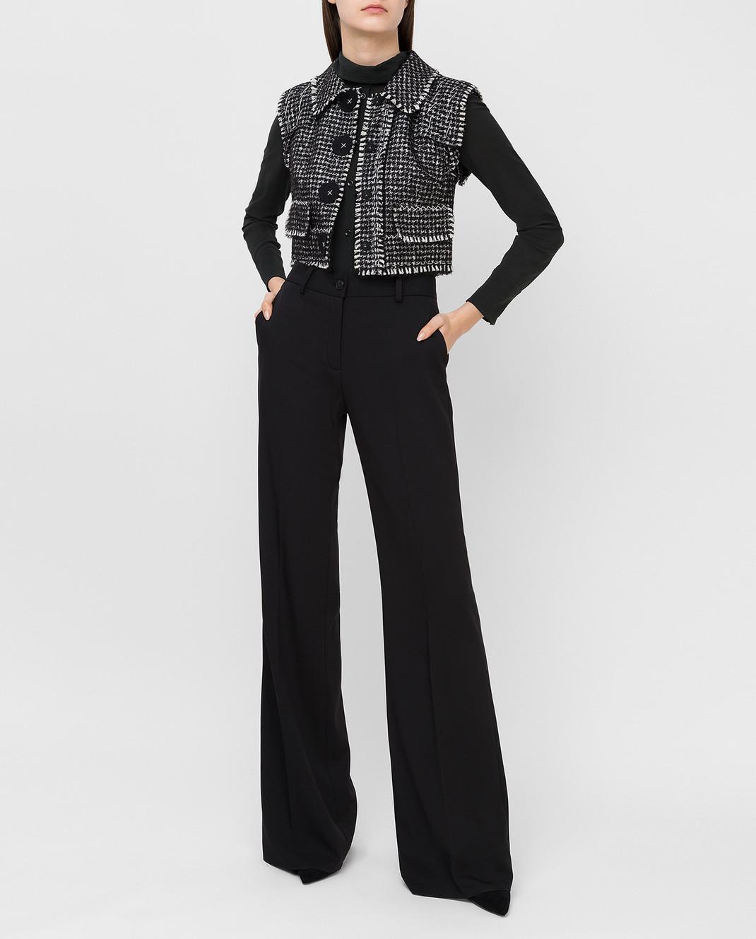 Dolce&Gabbana Черный жилет F28P9TFMMEZ изображение 2