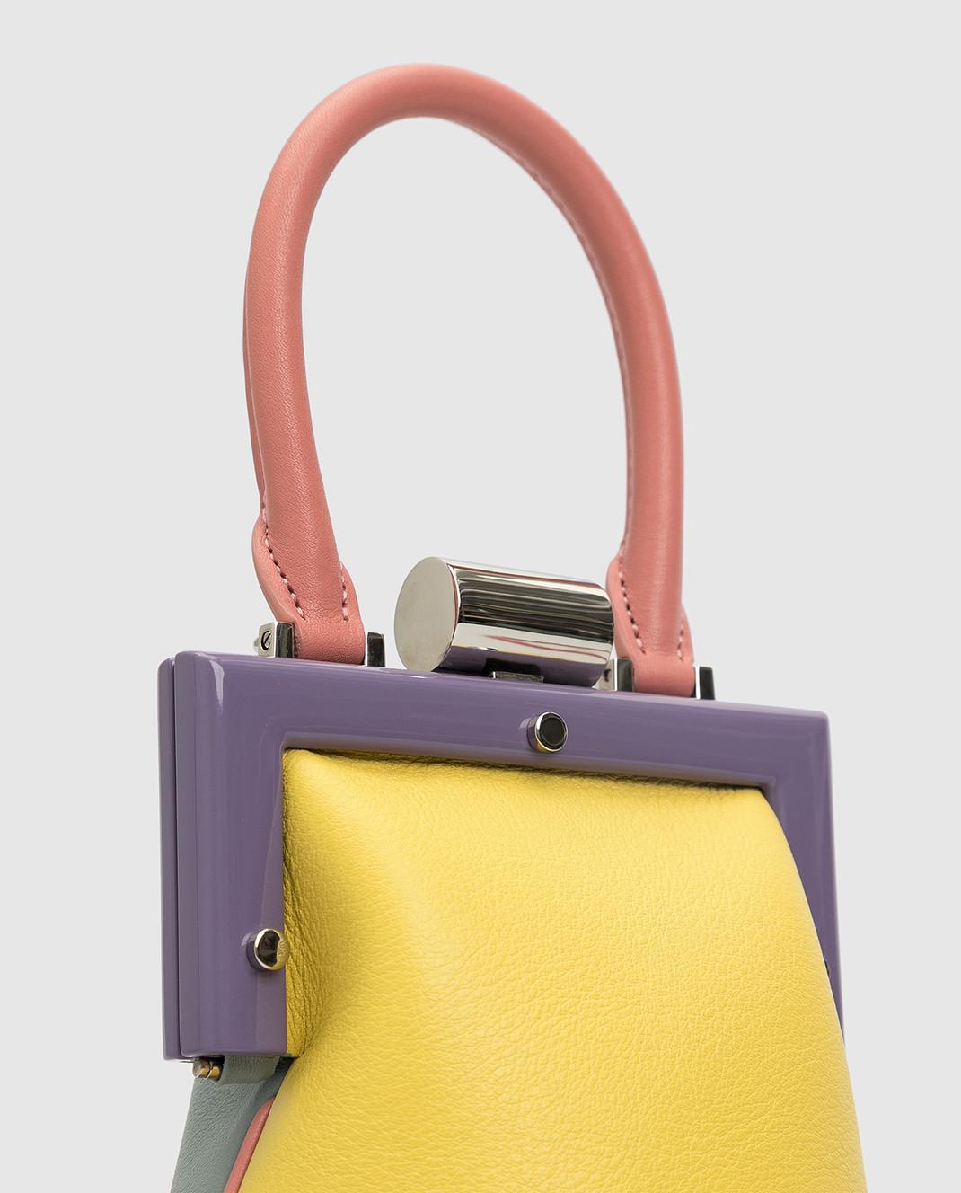 Perrin Кожаная сумка изображение 5