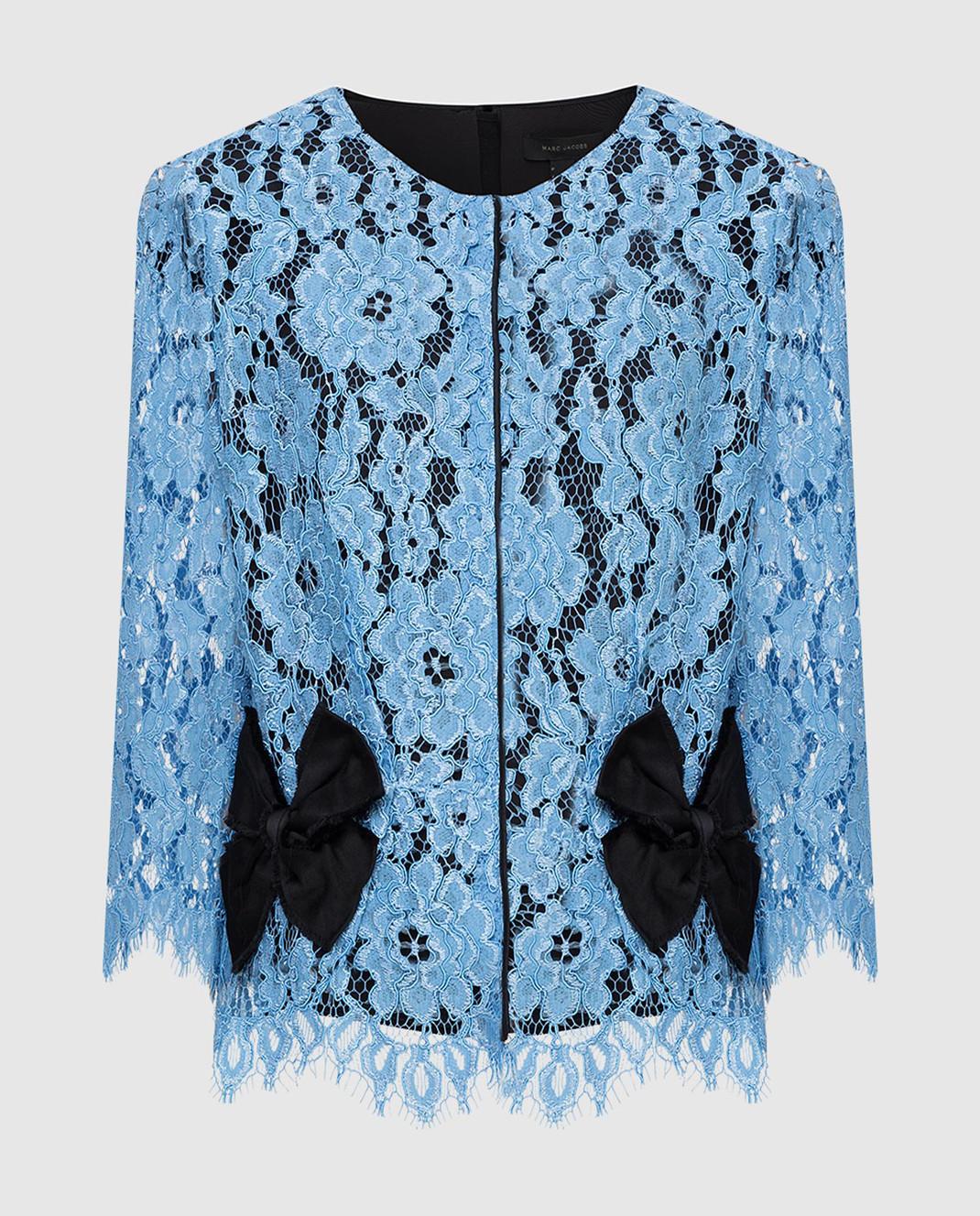 Marc Jacobs Голубая блуза M4005733