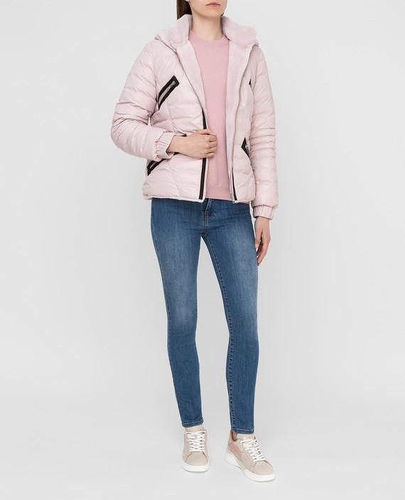 Двухсторонняя куртка с мехом норки hover