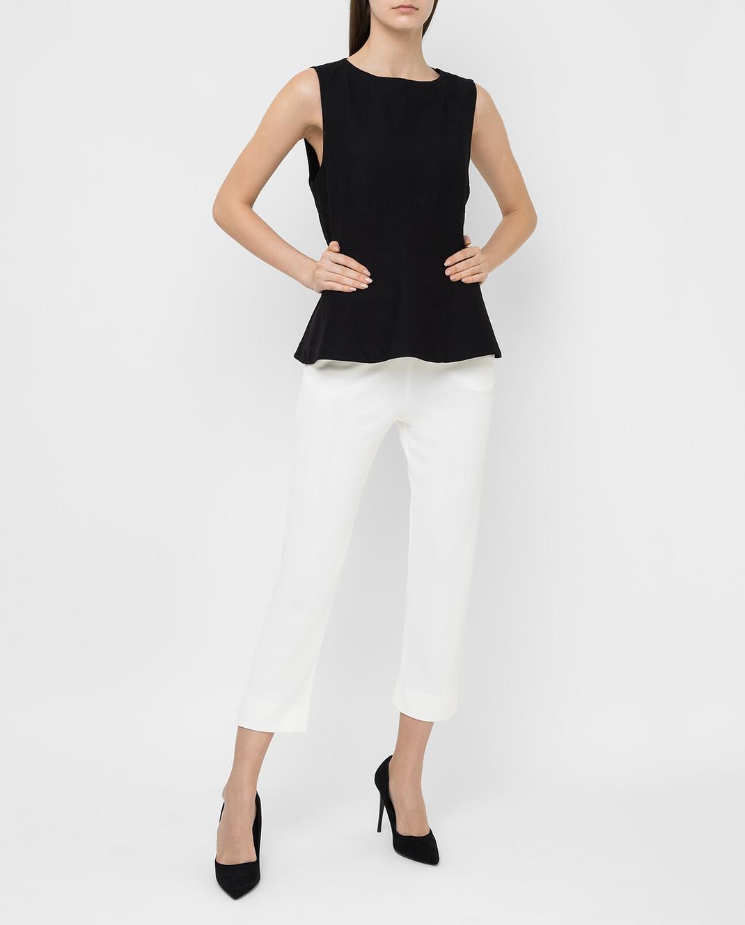 Armani Белые брюки 3XAP53 изображение 2