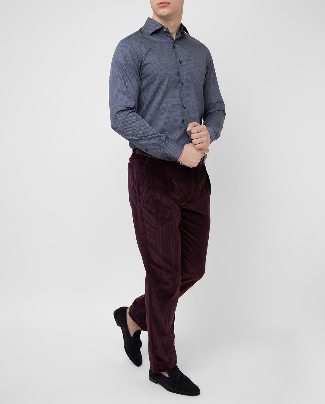 Stile Latino Фиолетовые брюки PUR32RCU13 изображение 2