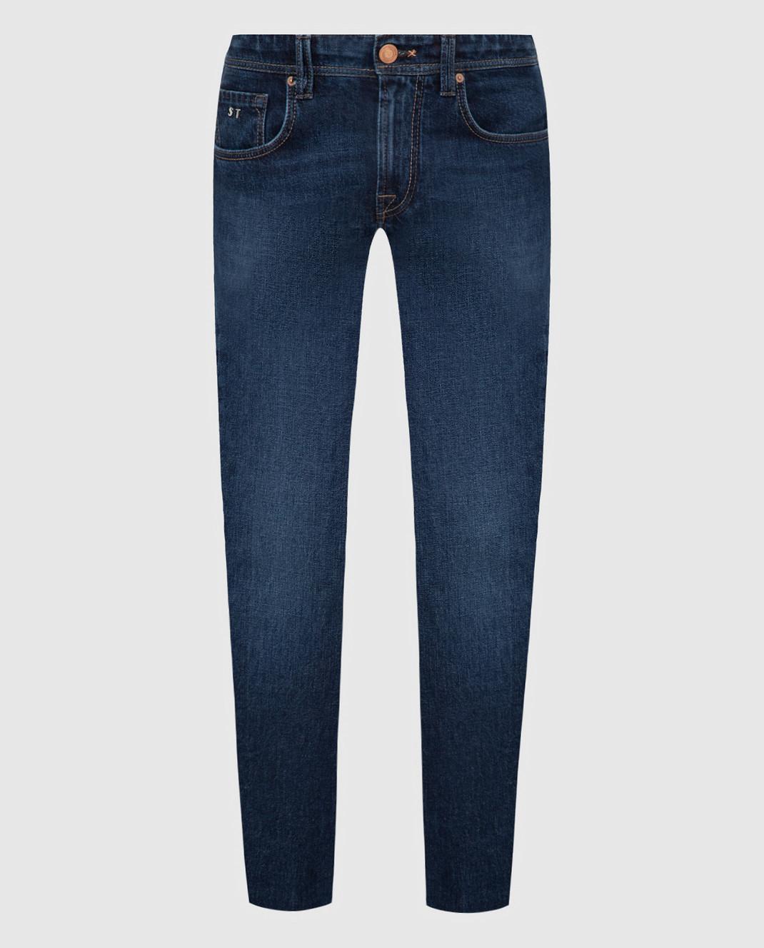 Tramarossa Темно-синие джинсы изображение 1