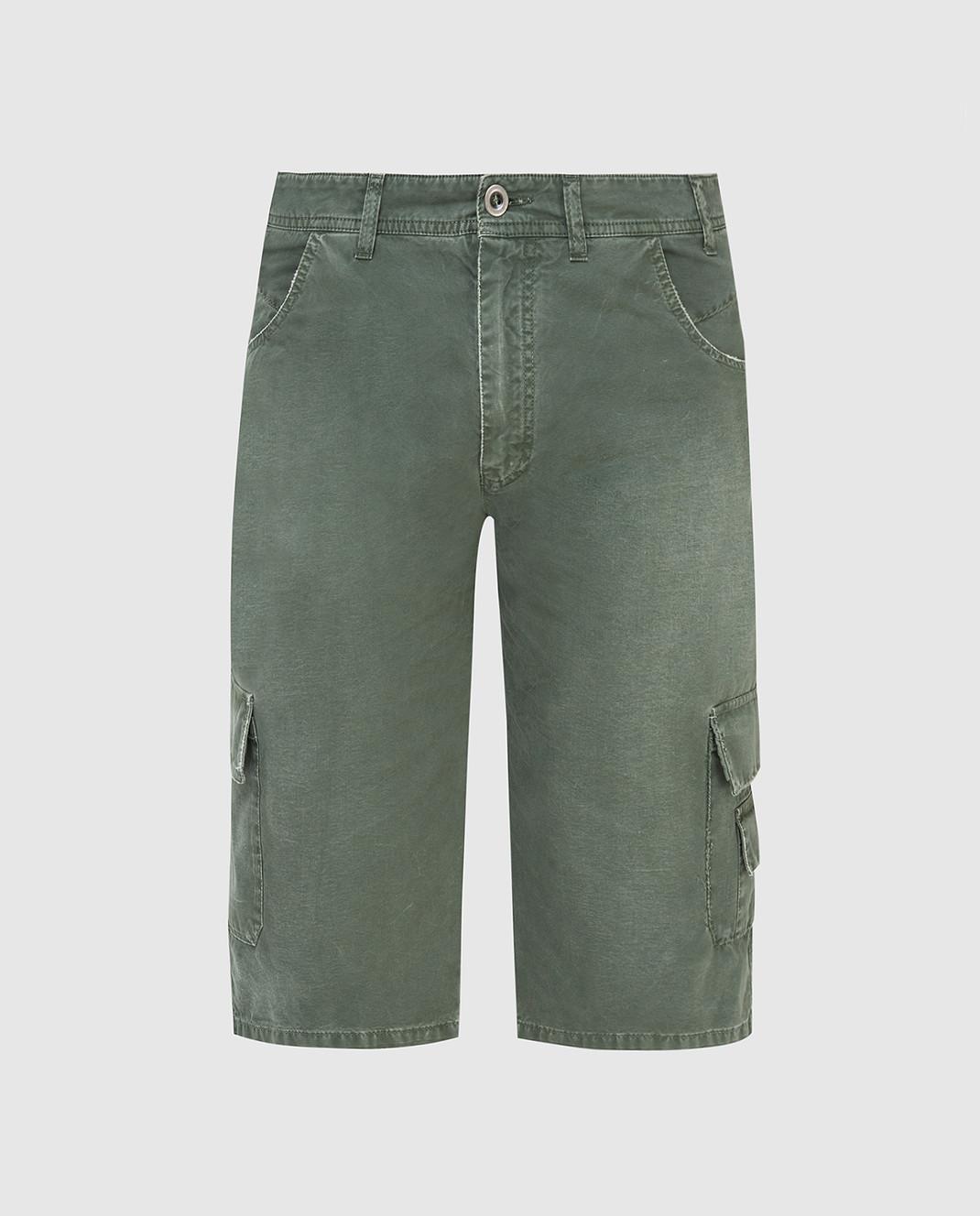 Ermanno Scervino Зеленые шорты U287P702AXC