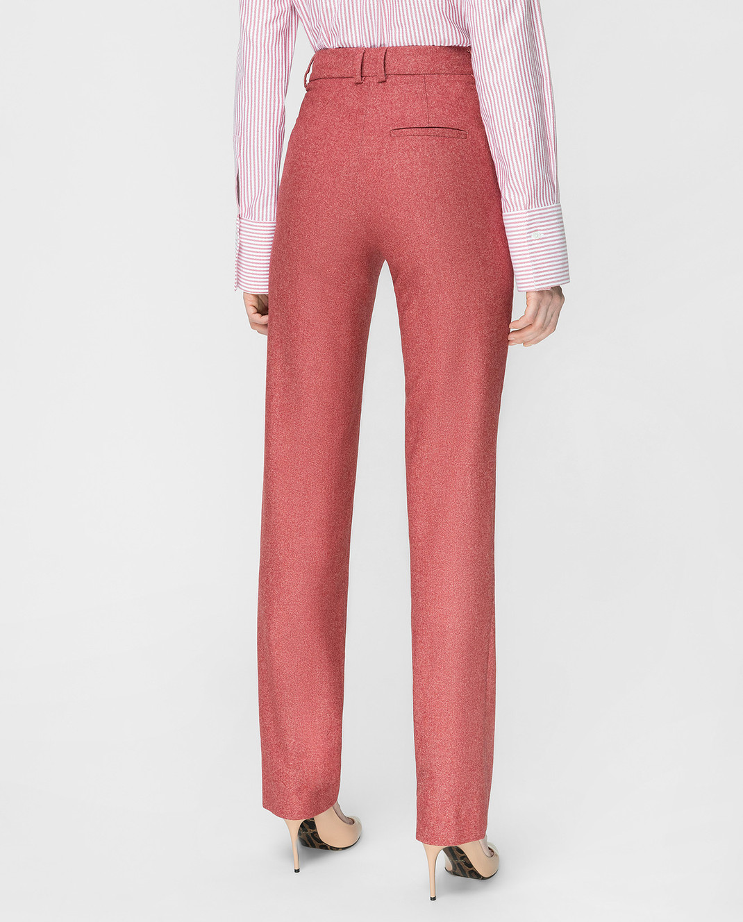 Stile Latino Бордовые брюки PDMARIELLA2EWU01 изображение 4