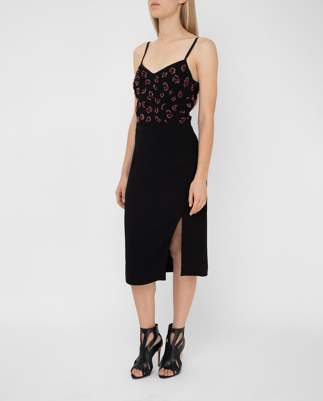 Altuzarra Черное платье изображение 3