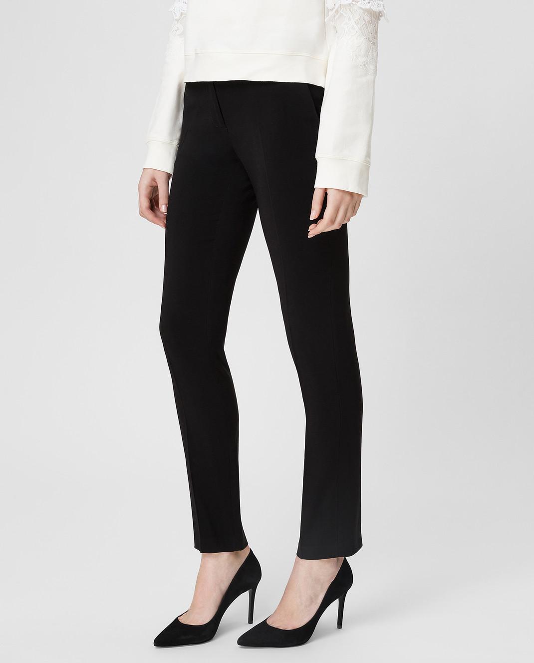 Twin Set Черные брюки 191TP2327 изображение 3