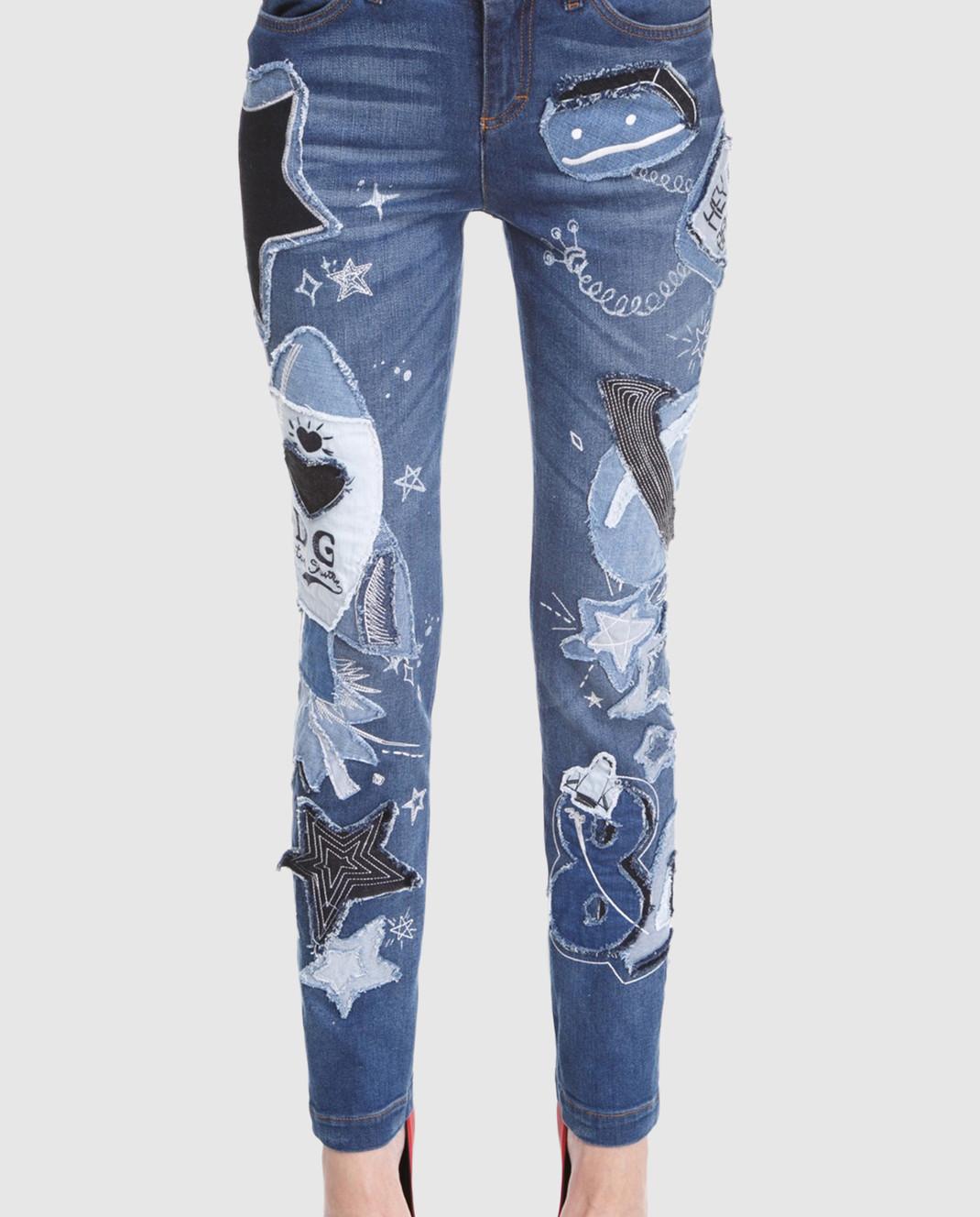 Dolce&Gabbana Синие джинсы FTAY1DG888B изображение 3