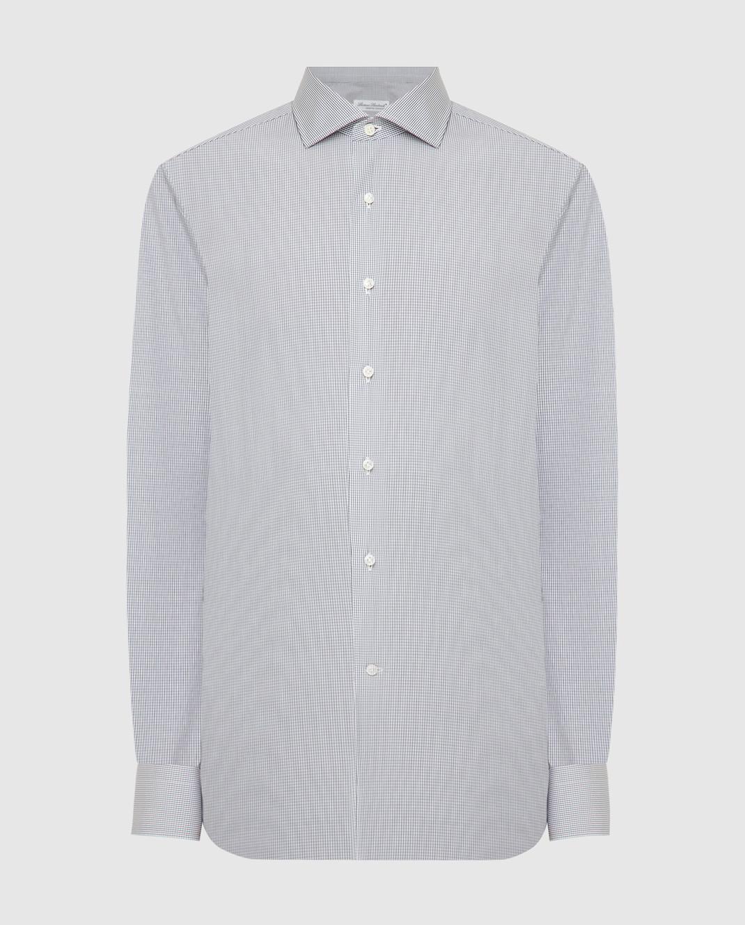 Luciano Lombardi Серая рубашка 990631