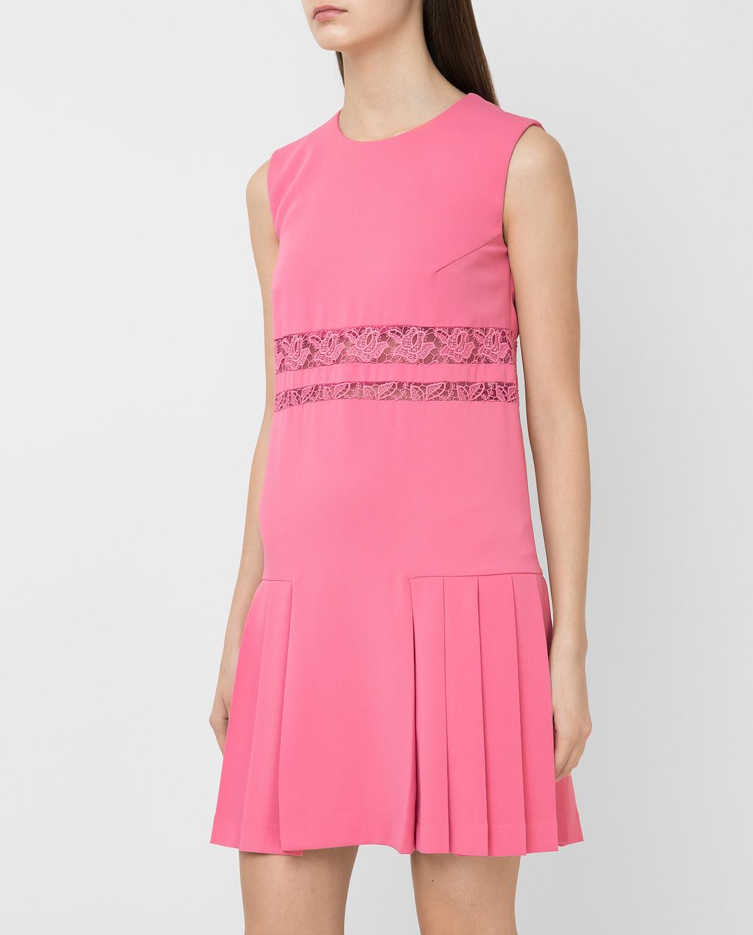 Ermanno Scervino Розовое платье изображение 3