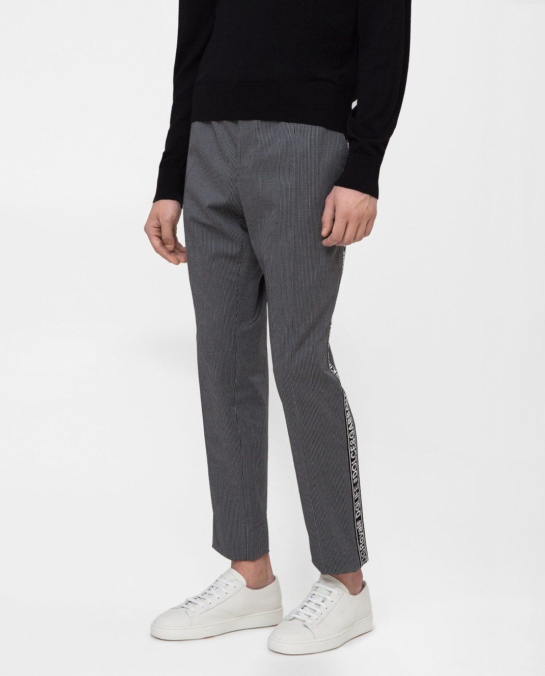Dolce&Gabbana Серые брюки GYIJETFRCBQ изображение 3
