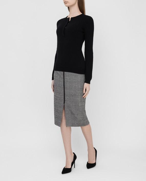 Черный свитер из кашемира hover