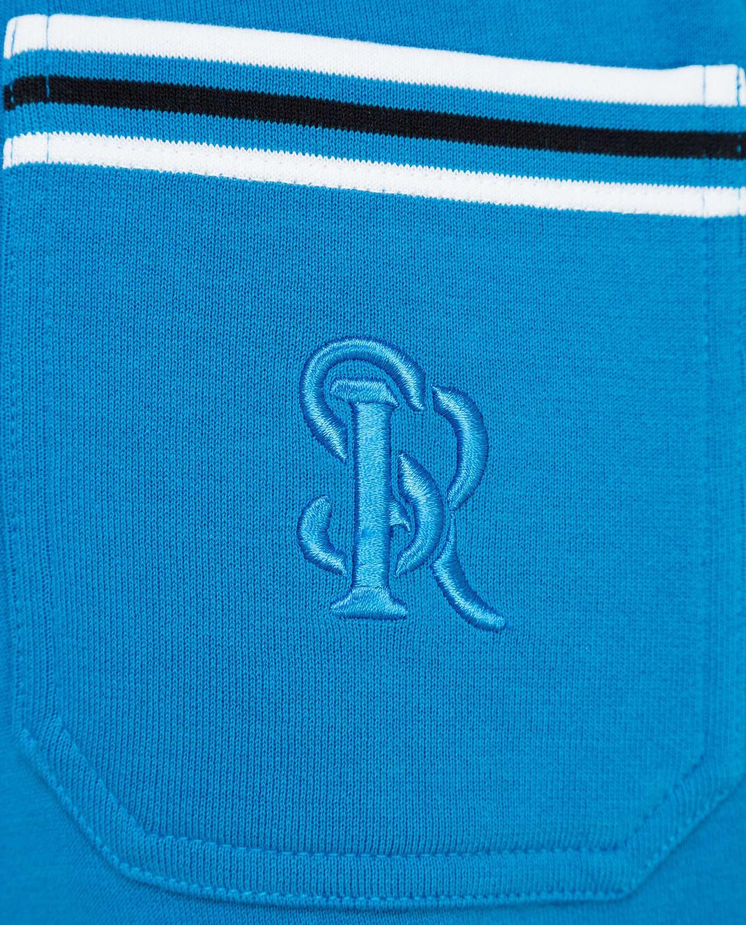 Stefano Ricci Синие спортивные брюки изображение 5