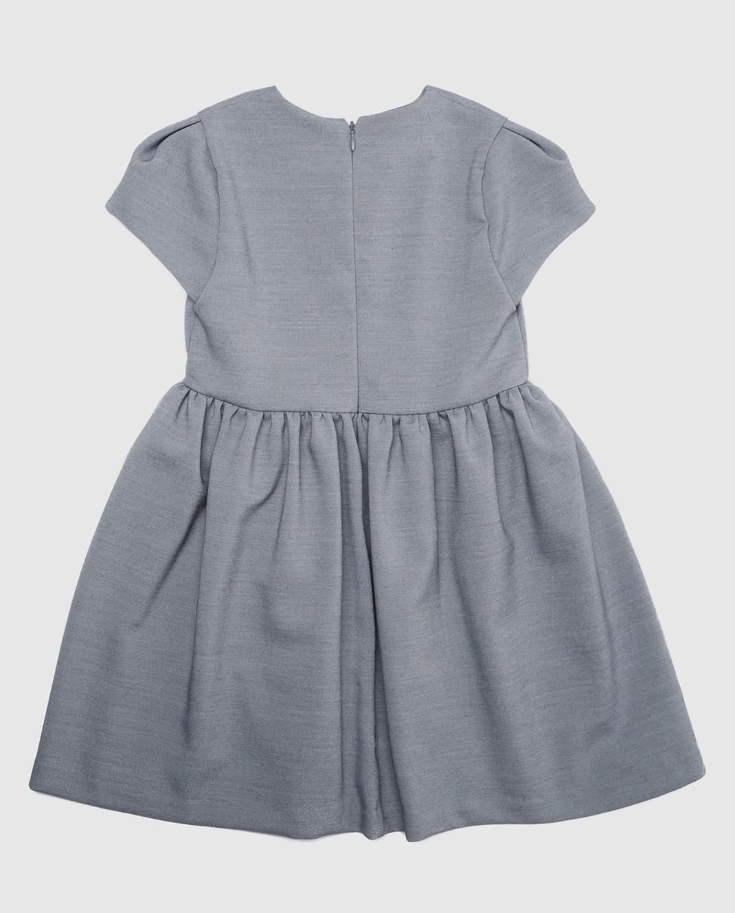 CAF Детское серое платье изображение 2