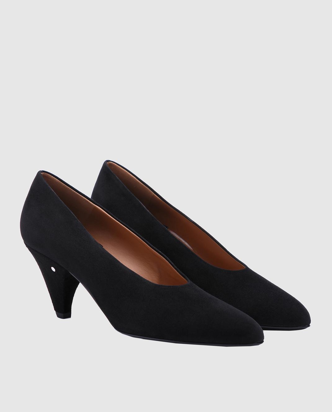 Laurence Dacade Черные замшевые туфли Sabi SABI изображение 2