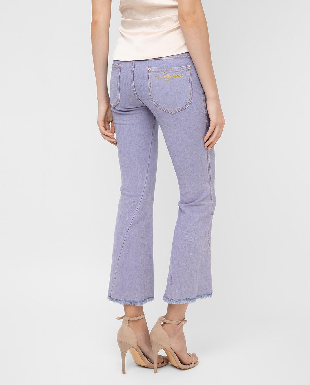 See by Chloe Сиреневые джинсы S7EDP12 изображение 4