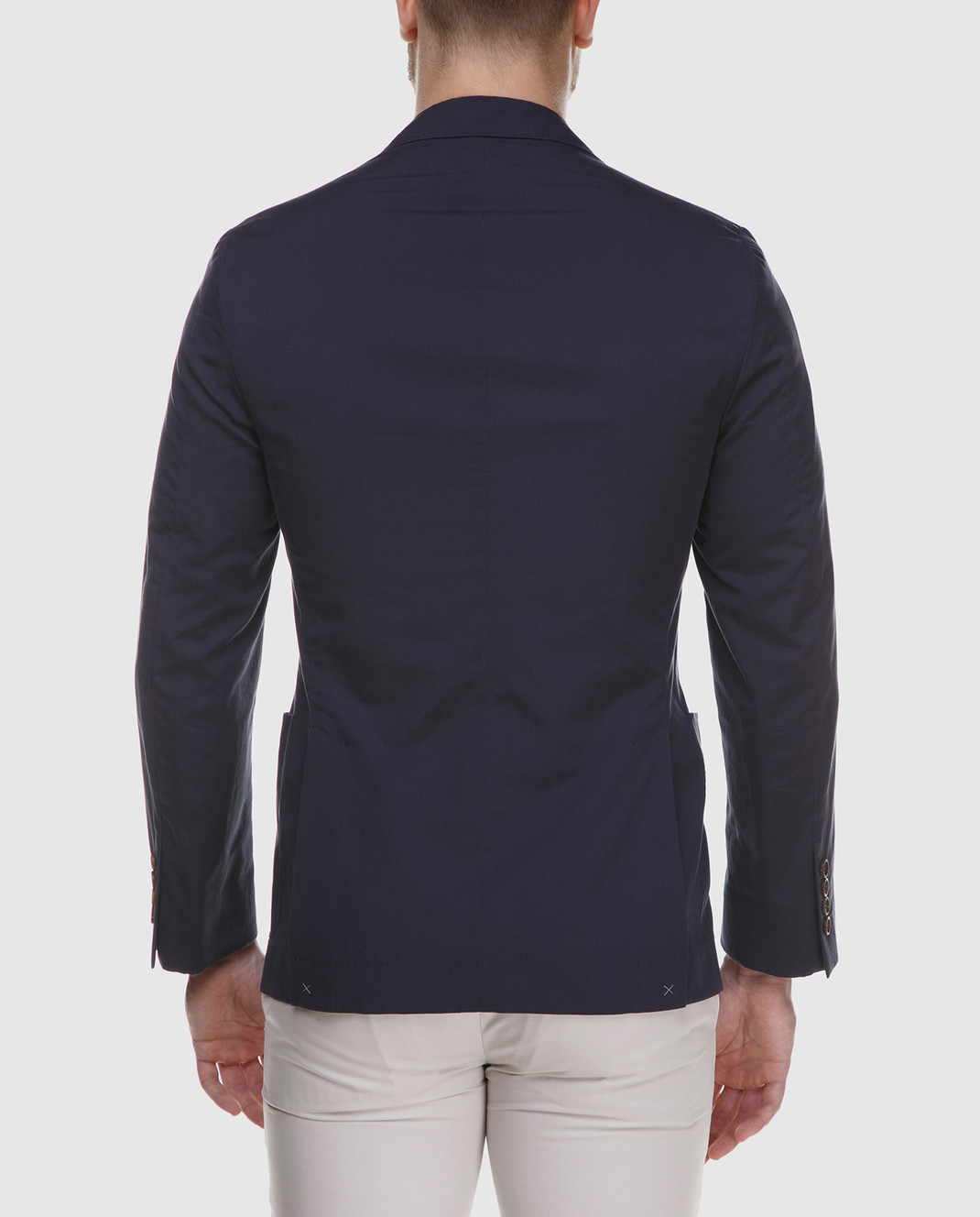 Brunello Cucinelli Темно-синий пиджак MD4007BND изображение 4