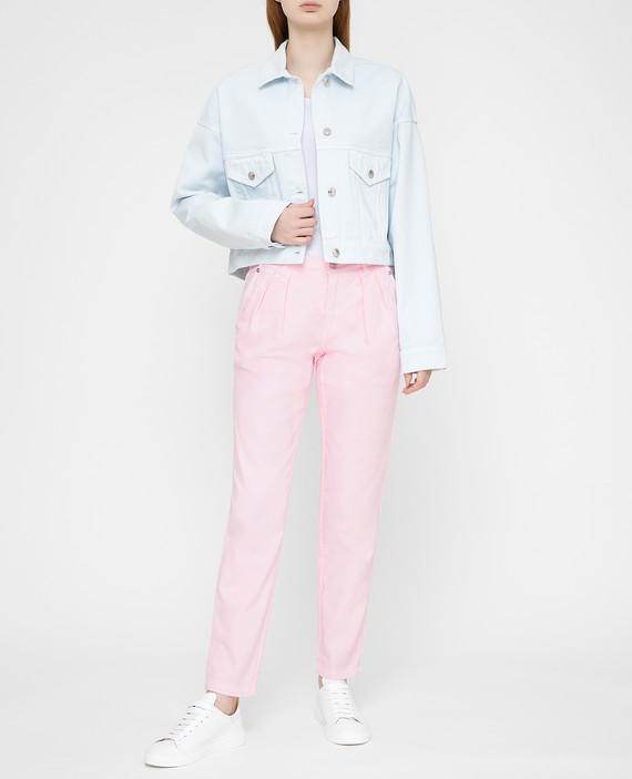 Розовые джинсы hover