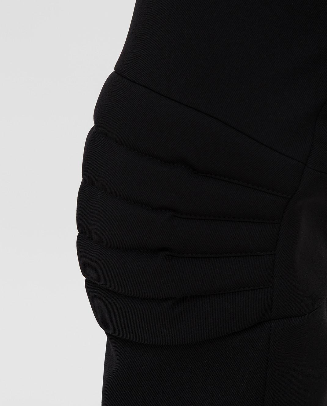Moncler Grenoble Черные горнолыжные брюки изображение 5
